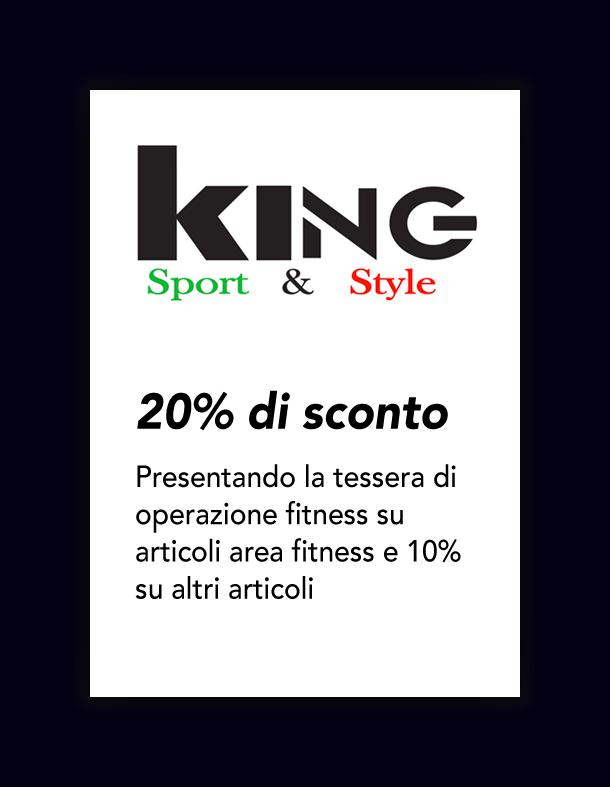 Convenzione king 20%